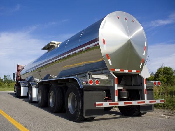 Spent Glycol Semi-Tanker Image